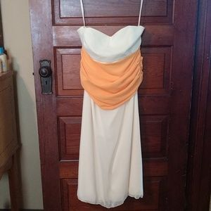 Yellow/Orange Jordan Formal Dress size 14